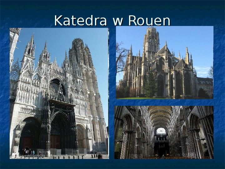 Kultura późnego średniowiecza - Slajd 12
