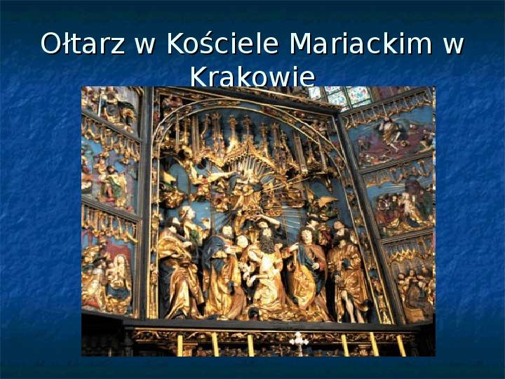 Kultura późnego średniowiecza - Slajd 17