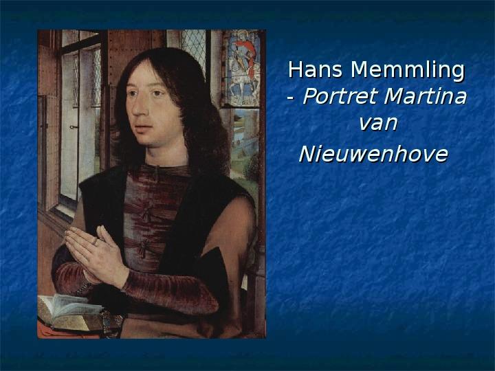 Kultura późnego średniowiecza - Slajd 28