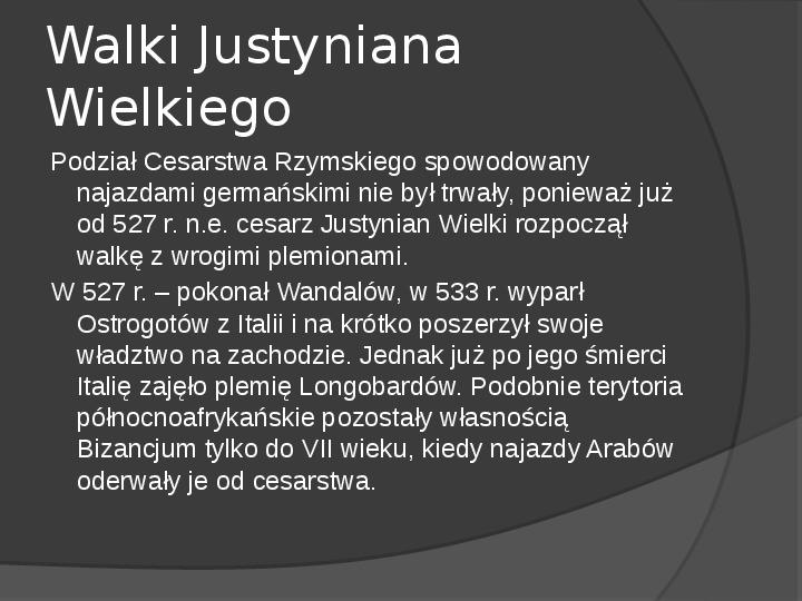 Na gruzach Imperium Romanum – państwa barbarzyńskie - Slajd 5