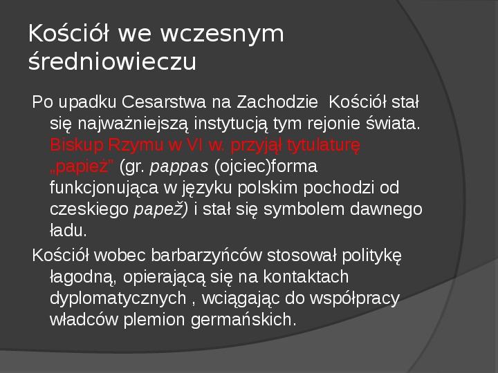 Na gruzach Imperium Romanum – państwa barbarzyńskie - Slajd 6