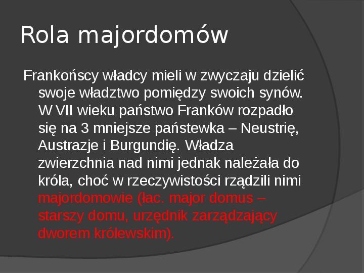 Na gruzach Imperium Romanum – państwa barbarzyńskie - Slajd 12