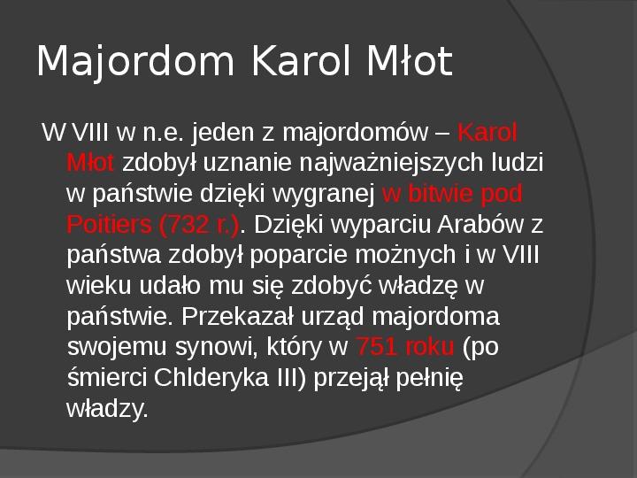 Na gruzach Imperium Romanum – państwa barbarzyńskie - Slajd 13