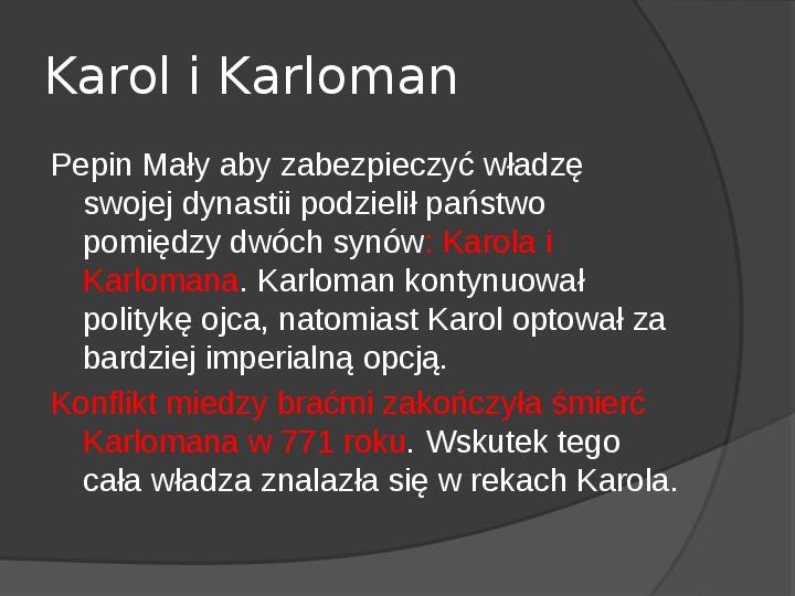 Na gruzach Imperium Romanum – państwa barbarzyńskie - Slajd 18