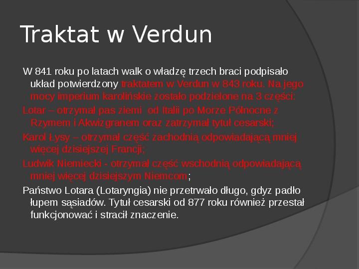 Na gruzach Imperium Romanum – państwa barbarzyńskie - Slajd 29