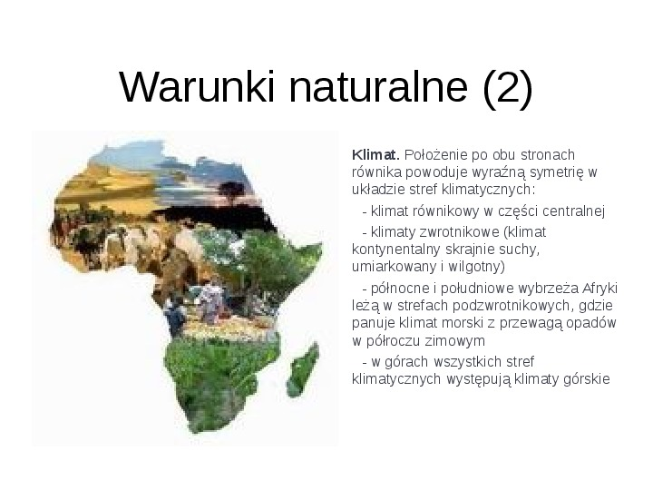 Afryka - kontynent - Slajd 3