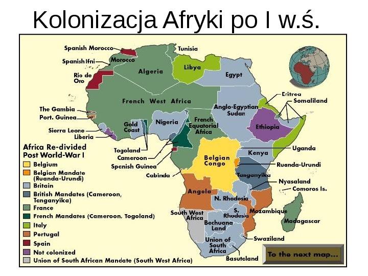 Afryka - kontynent - Slajd 8