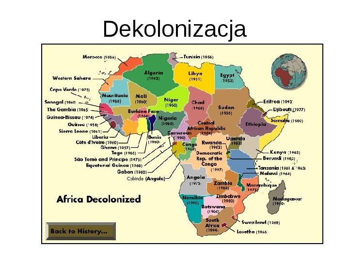 Afryka - kontynent - Slajd 9