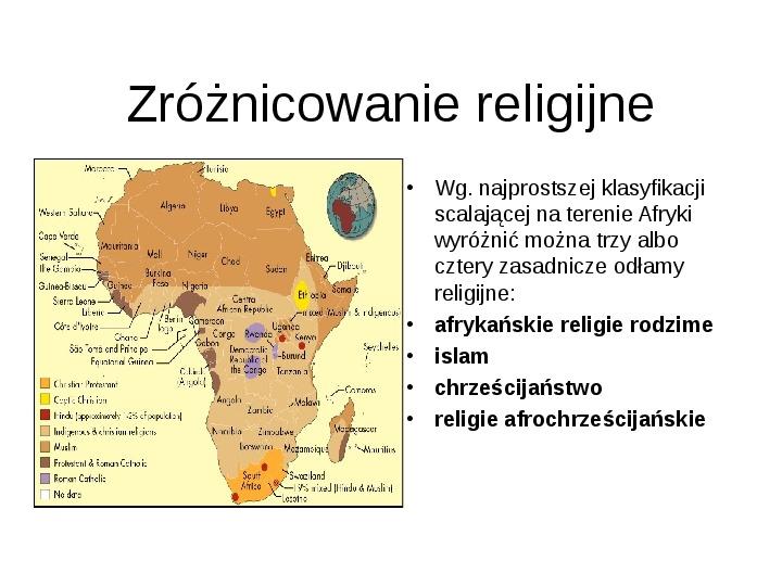 Afryka - kontynent - Slajd 10