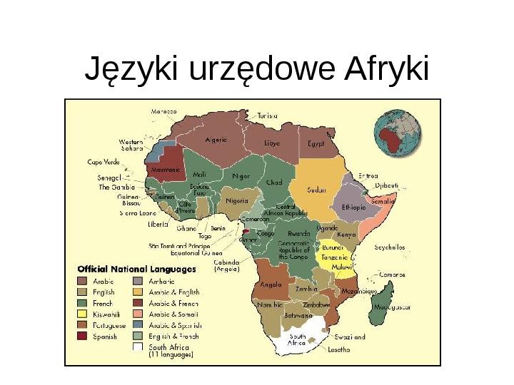 Afryka - kontynent - Slajd 16