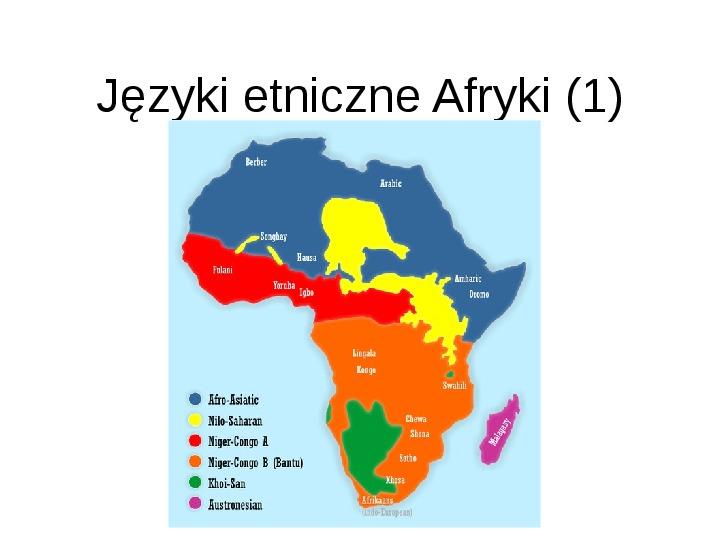Afryka - kontynent - Slajd 17
