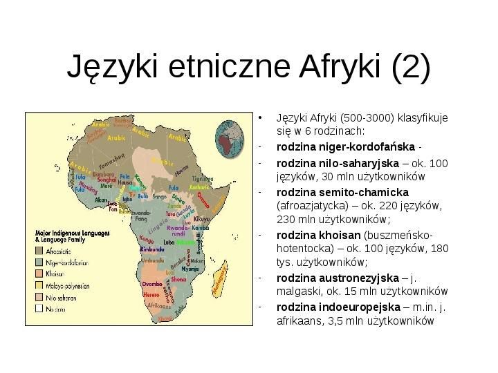 Afryka - kontynent - Slajd 18