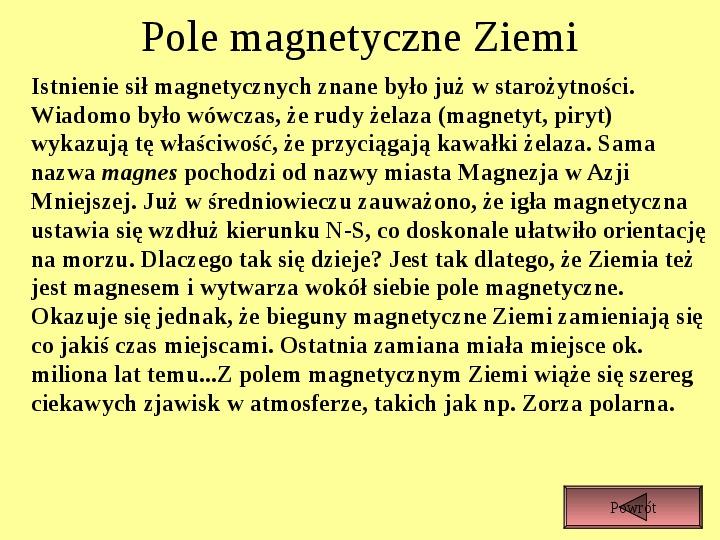 Oddziaływanie magnetyczne - Slajd 5
