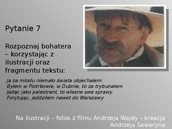 Pan Tadeusz - Slajd 7