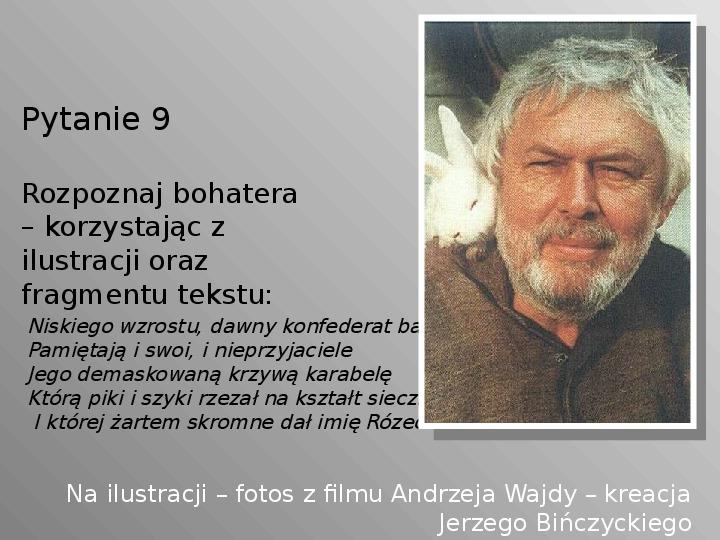 Pan Tadeusz - Slajd 9