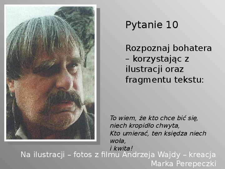 Pan Tadeusz - Slajd 10