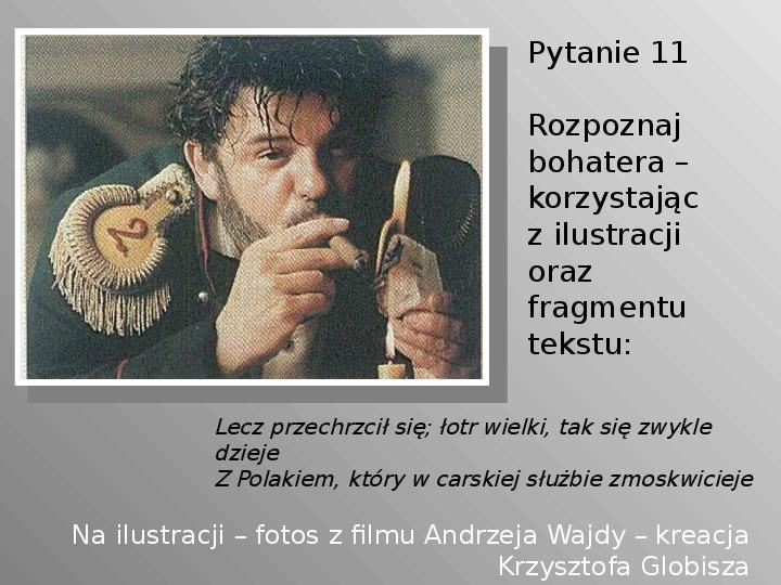 Pan Tadeusz - Slajd 11