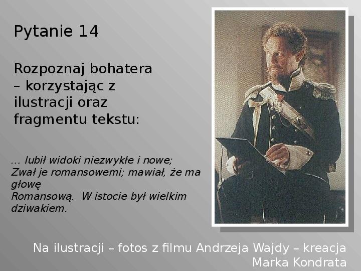 Pan Tadeusz - Slajd 14