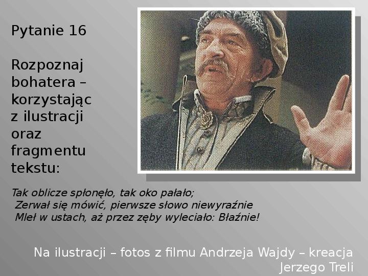 Pan Tadeusz - Slajd 16