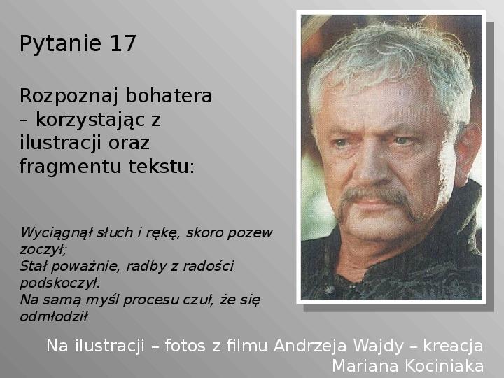 Pan Tadeusz - Slajd 17