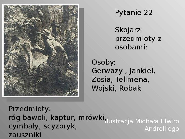 Pan Tadeusz - Slajd 22