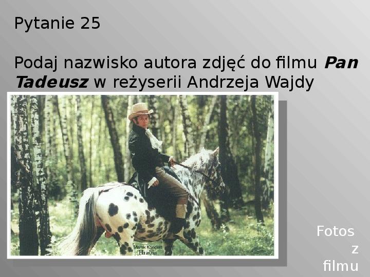 Pan Tadeusz - Slajd 25