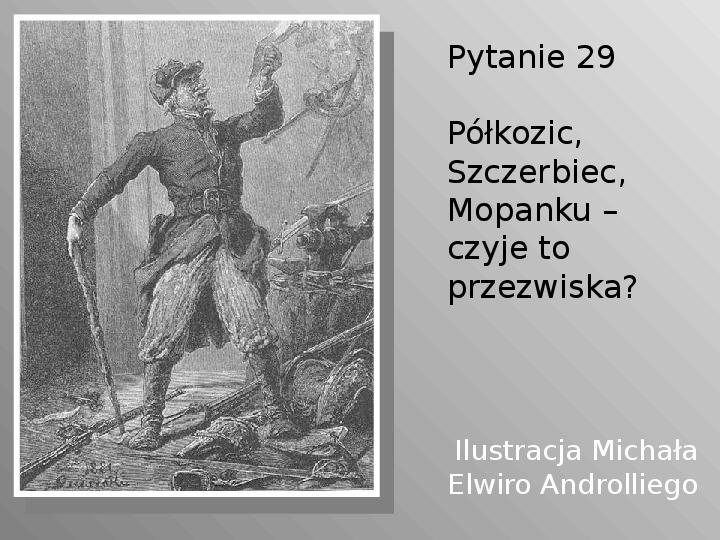 Pan Tadeusz - Slajd 29