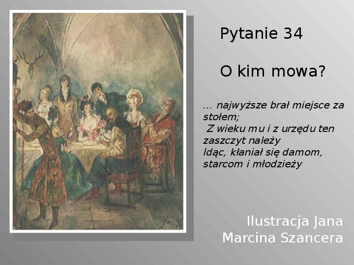 Pan Tadeusz - Slajd 34