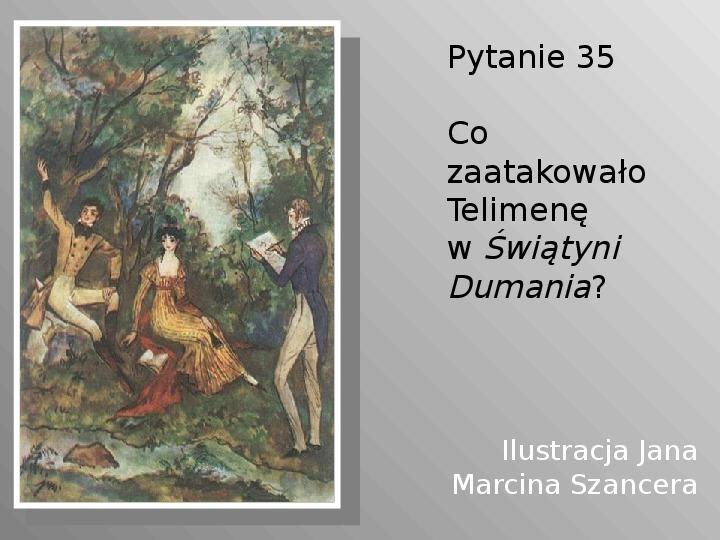 Pan Tadeusz - Slajd 35