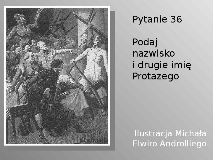 Pan Tadeusz - Slajd 36