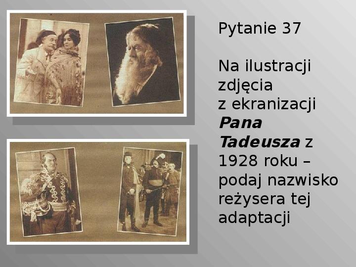 Pan Tadeusz - Slajd 37