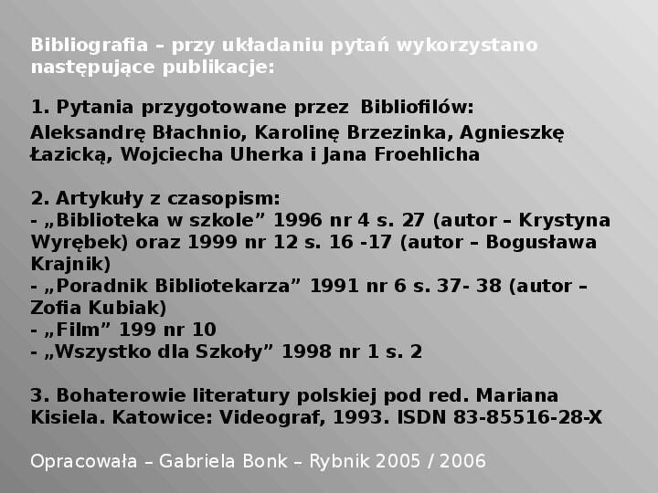 Pan Tadeusz - Slajd 39