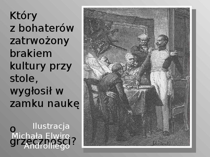 Pan Tadeusz - Slajd 42