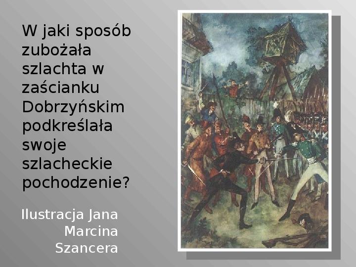 Pan Tadeusz - Slajd 53