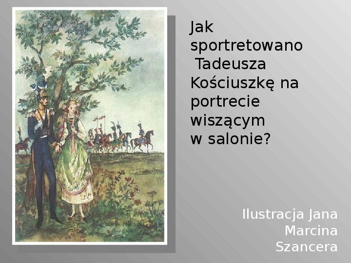 Pan Tadeusz - Slajd 62