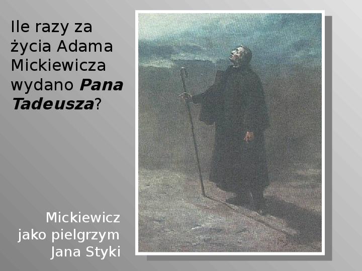 Pan Tadeusz - Slajd 63