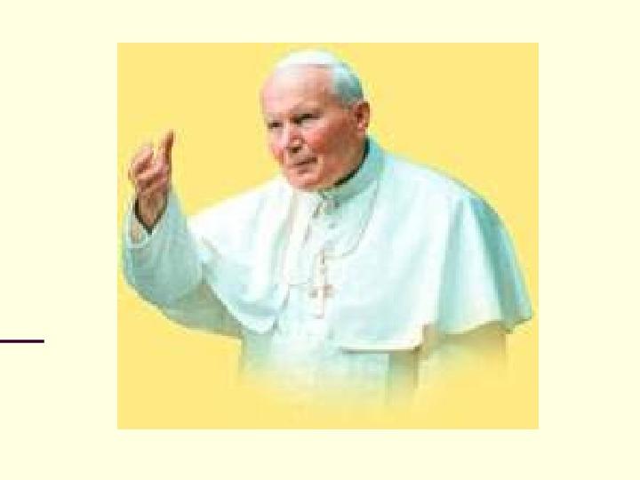 Jan Paweł II - dzień wyboru - Slajd 1