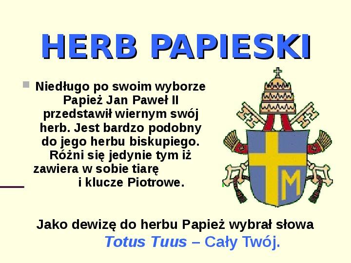 Jan Paweł II - dzień wyboru - Slajd 8