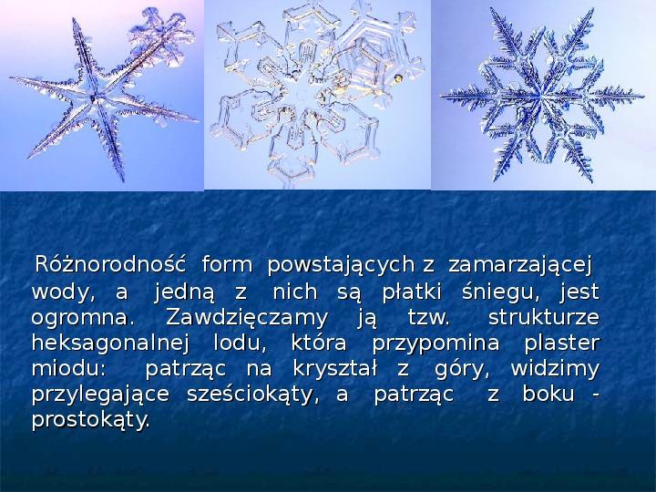 Płatki śniegu - Slajd 8