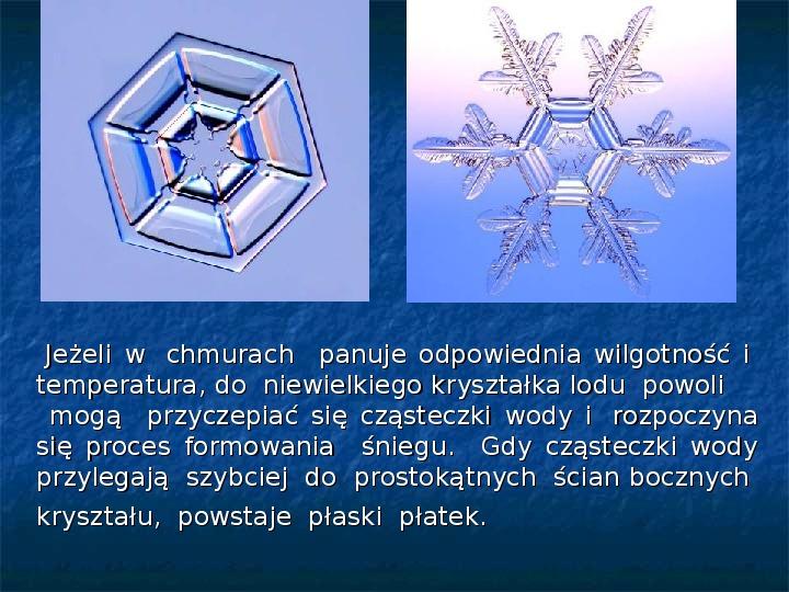 Płatki śniegu - Slajd 9