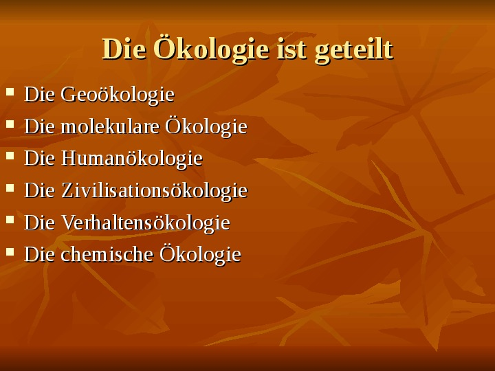 Ekologia - Slajd 2