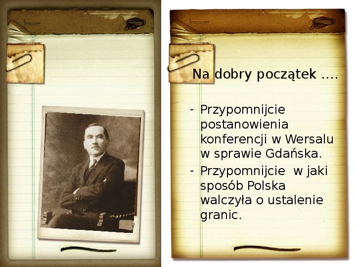 Polska polityka zagraniczna okresu międzywojennego - Slajd 1