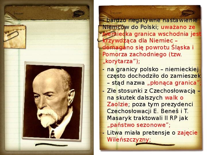 Polska polityka zagraniczna okresu międzywojennego - Slajd 3