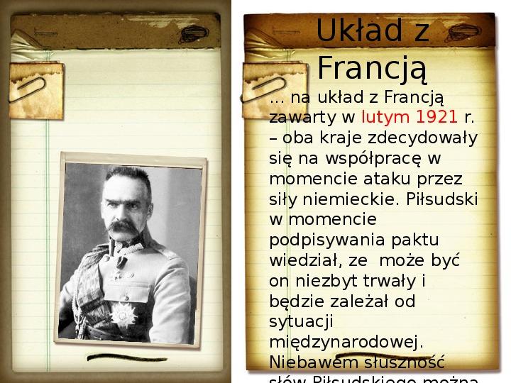 Polska polityka zagraniczna okresu międzywojennego - Slajd 5