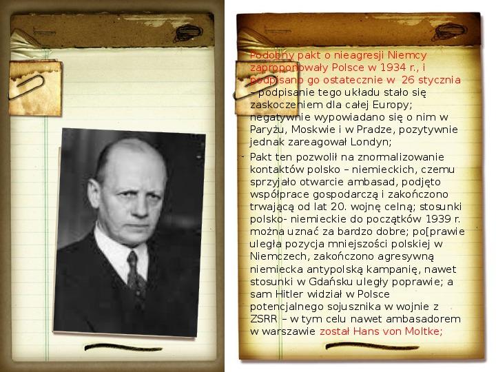 Polska polityka zagraniczna okresu międzywojennego - Slajd 9