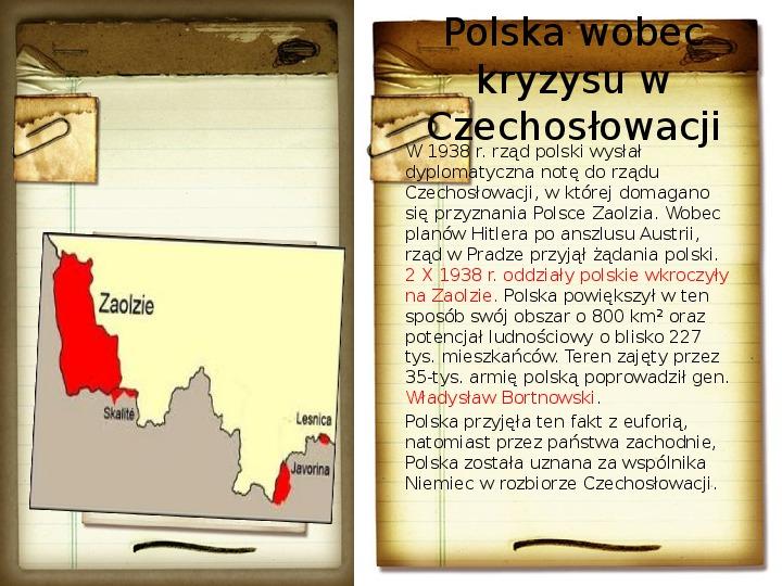 Polska polityka zagraniczna okresu międzywojennego - Slajd 12