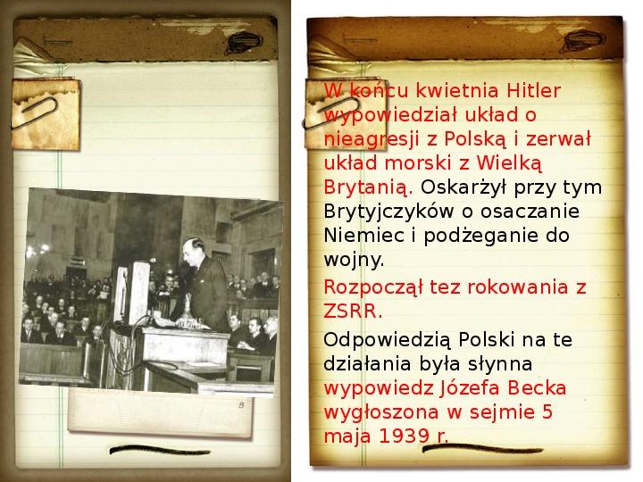Polska polityka zagraniczna okresu międzywojennego - Slajd 18