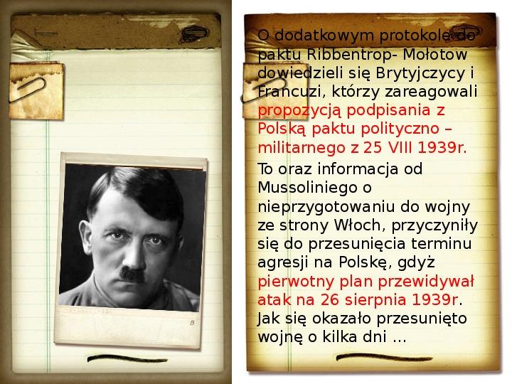 Polska polityka zagraniczna okresu międzywojennego - Slajd 20
