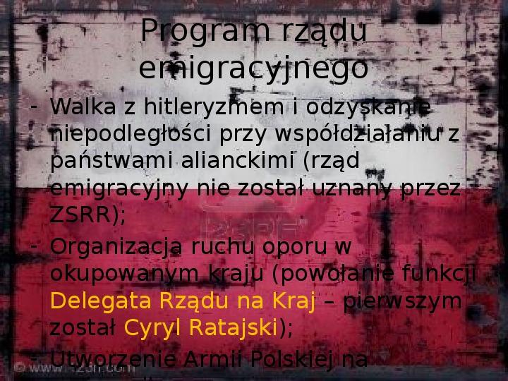 Polskie Państwo Podziemne - Slajd 3