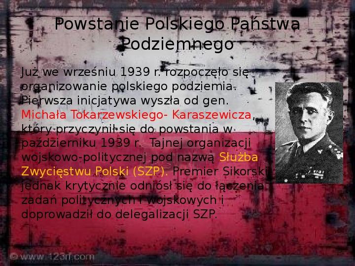 Polskie Państwo Podziemne - Slajd 5